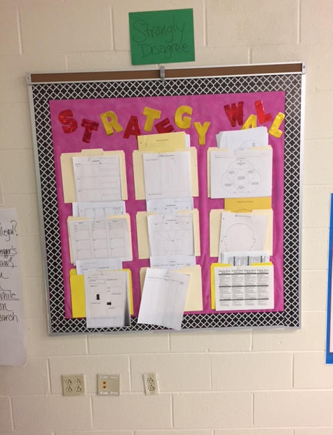 Literacy Strategy Wall for Teachers