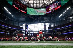 Atlanta Falcons at Mercedes Benz