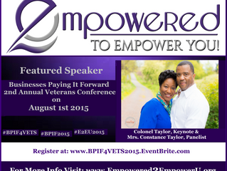 Keynote Speakers: Colonel & Constance Taylor