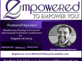 Keynote Speaker: Chad Littlefield