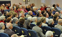 The congregation on Sunday at first baptist church sun lakes