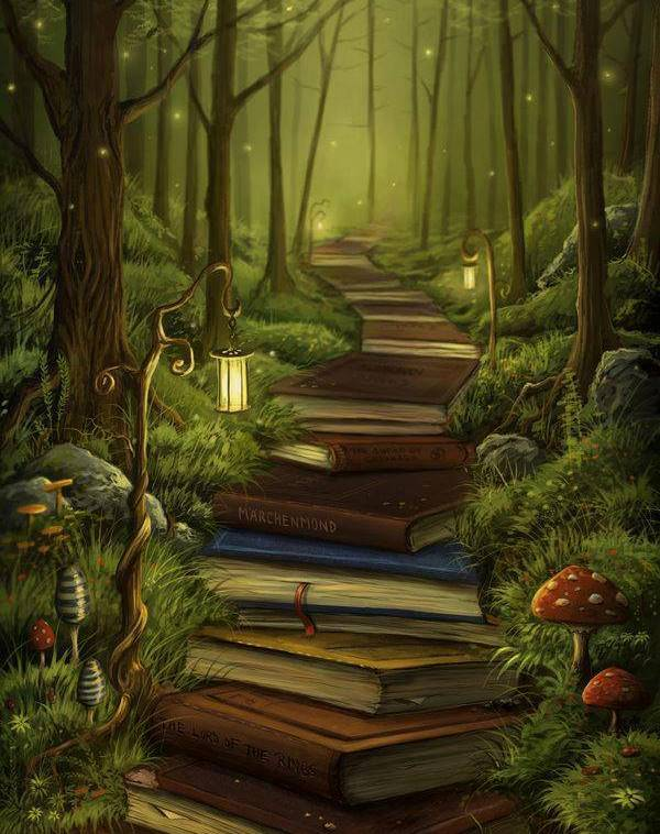 """The reader's path"""