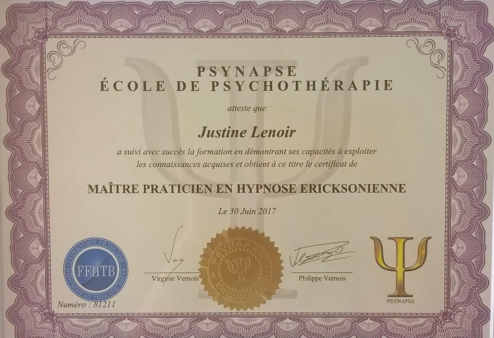 Maitre Praticien Hypnose Lyon