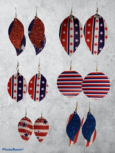 Stars & Stripes Earrings