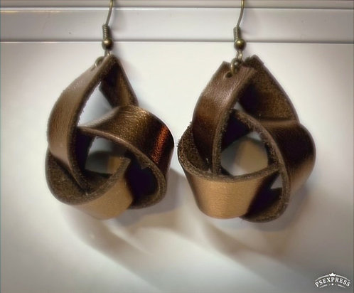 Bronze Knot Medium - Leather