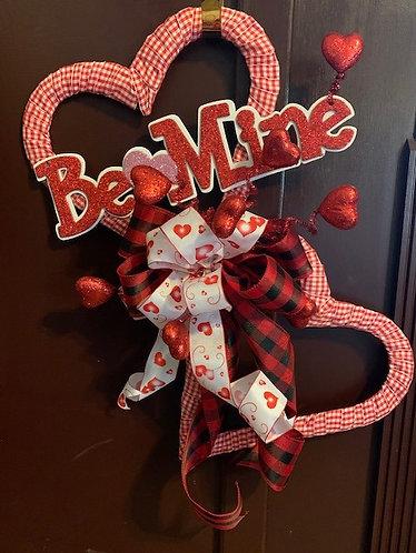 Be Mine Valentine Door Hanger