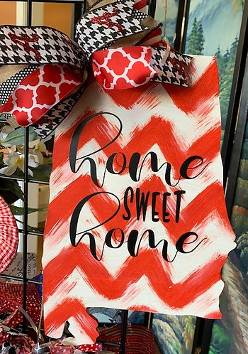 Home Sweet Home - Alabama Chevron