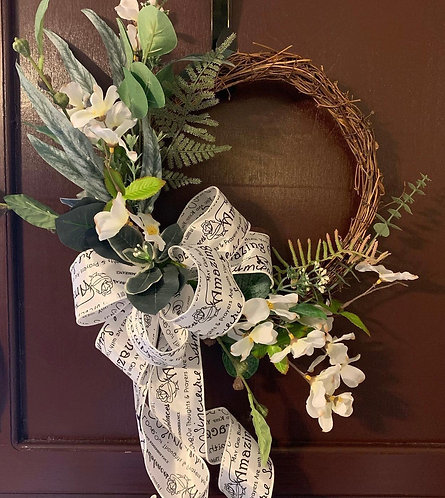 Simple Sympathy Wreath