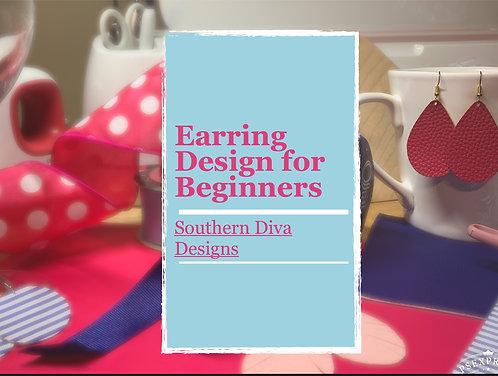 Earring Design for Beginners Ebook