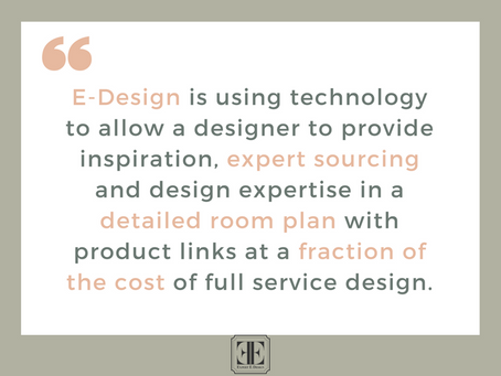 The Benefits of E-Design