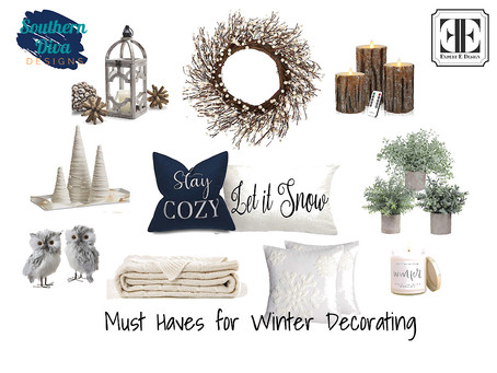 Winter Decorating - Styling Your Home in that Awkward After-Christmas Period