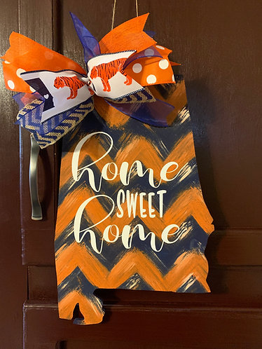 Home Sweet Home - Auburn Chevron
