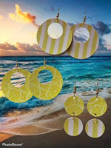 Lemon Sunshine Earrings