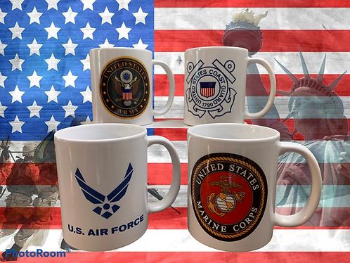 Military Veteran Mugs