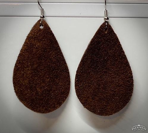 Black or Brown Teardrop