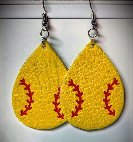 Softball Teardrop