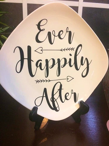 Happily Ever After Plate