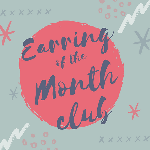 Earring of the Month Club Subscription