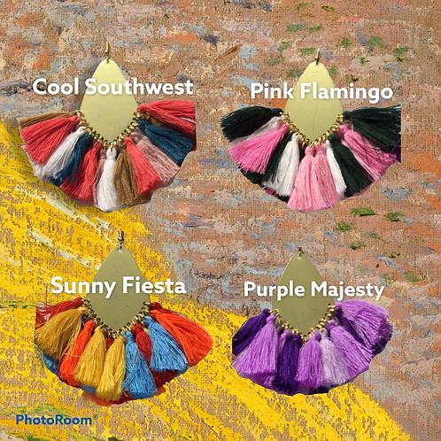 Multi-Tassel Earrings