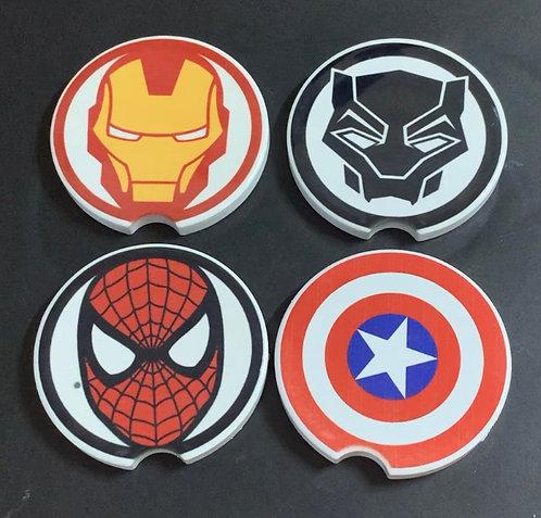 Superhero Car Coasters