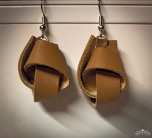 Tan Knot Small - Leather