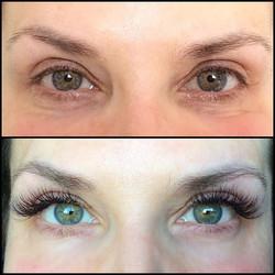 Lashes lashes lashes❤️natural look 3D volume lash extensions 🙌🏼 ECHELON AESTHETICS❣#permanentmakeu