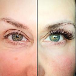 Cat eye ❤️🌺natural look 3D volume lash extensions 🙌🏼 ECHELON AESTHETICS❣#permanentmakeupartist #p