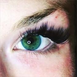 Maya Lashes cat eye 3D lash extensions ❤️😱❤️ #mayalashes_ #3Dlashes #bestlashes #lashes #beverlyhil