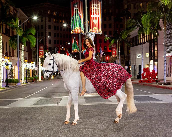 Carlotta Montanari Rodeo Drive Four Legs