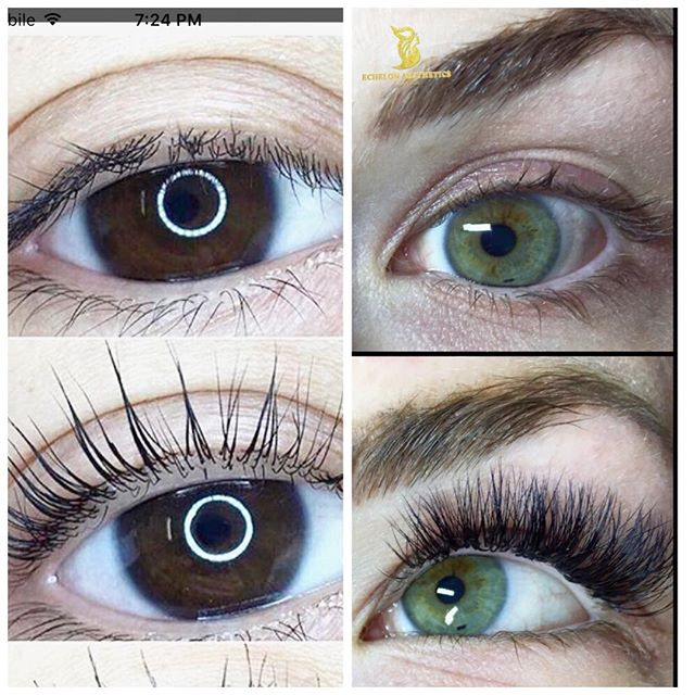 Lash Perm VS Volume Lash Extensions