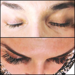 WOW🌹3D Lash Extensions RED CARPET ready for stunning eyes and amazing Jackie _thefrenchreporter 🌺