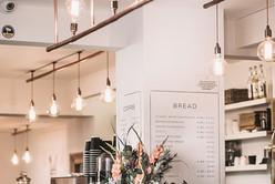 Interieur van Cafe