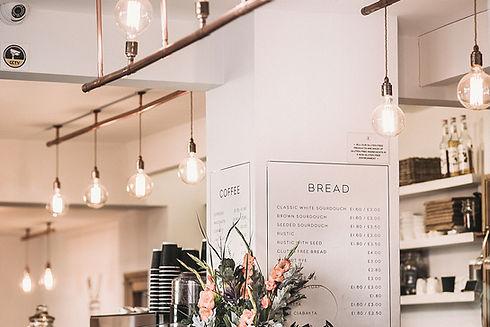 Interior de cafe