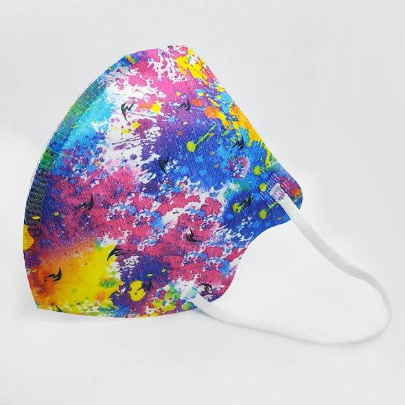 Maschera filtrante ad alta filtrazione per bambini.