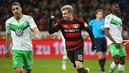 Seleção: os 11 melhores de Wolfsburg x Bayer Leverkusen