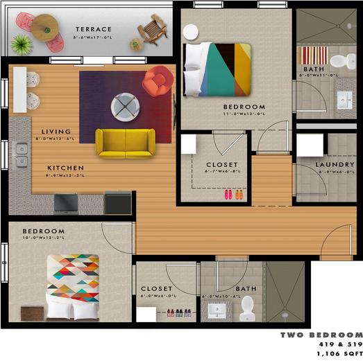 B2-J Floor Plan