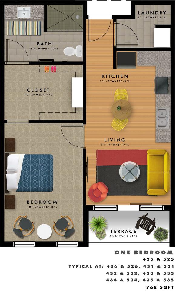 A2-P Floor Plan