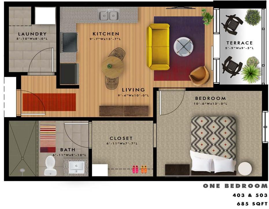A2-C Floor Plan