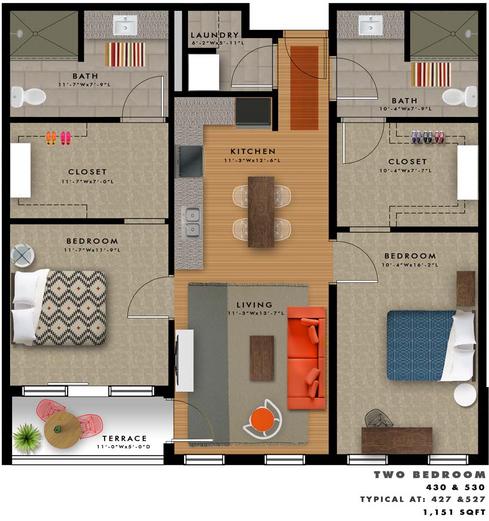 B2-Q Floor Plan