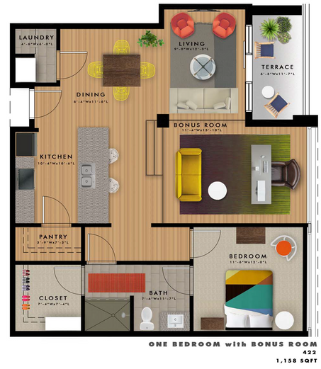 A2-M1 Floor Plan