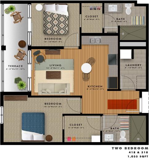 B2-I Floor Plan