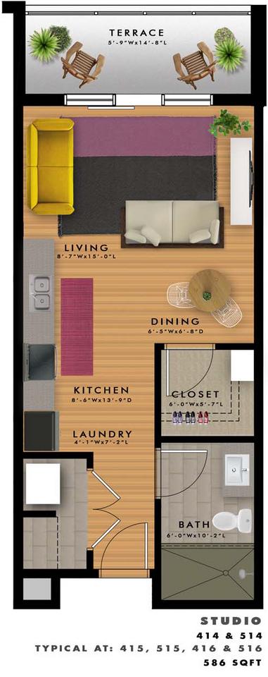 S2-G Floor Plan