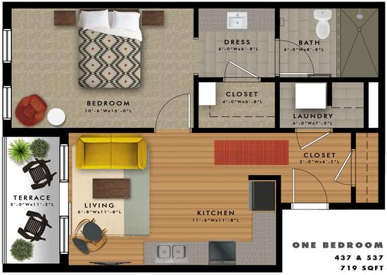 A2-T Floor Plan