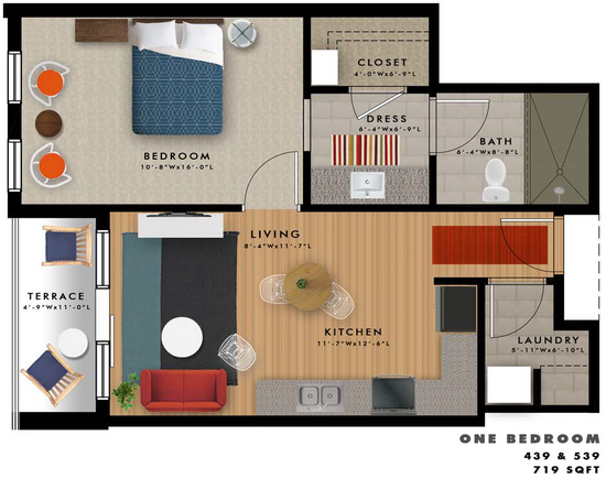 A2-V Floor Plan