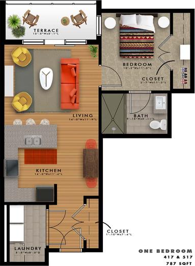 A2-H Floor Plan