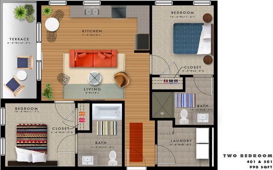 B2-A Floor Plan