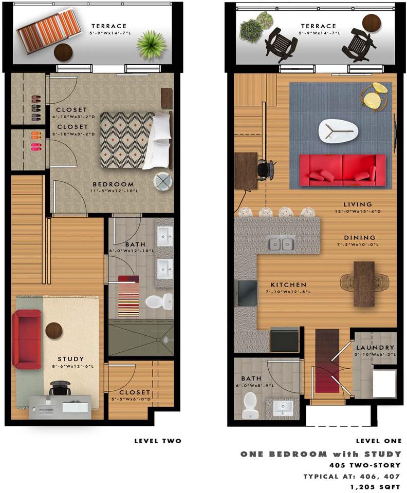 A2-E Floor Plan