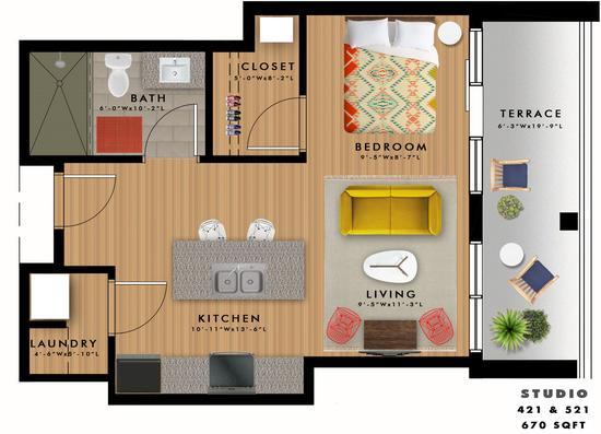 S2-L Floor Plan