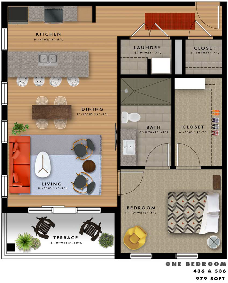 A2-S Floor Plan
