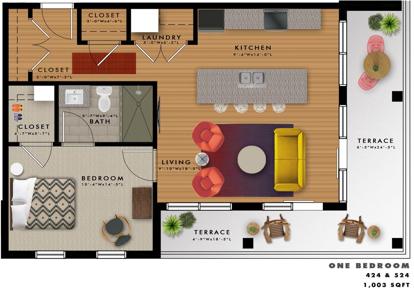 A2-O Floor Plan